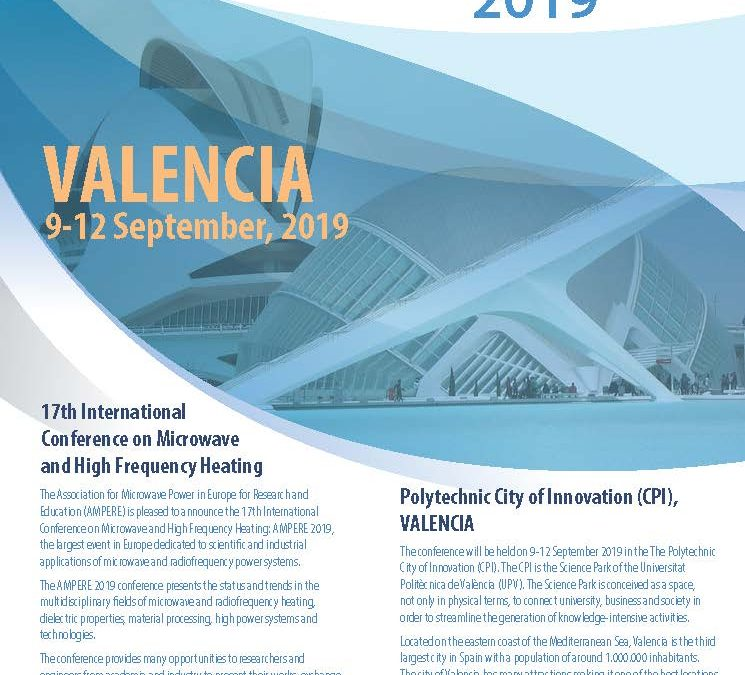 Ampere 2019 Conference: Call for Papers