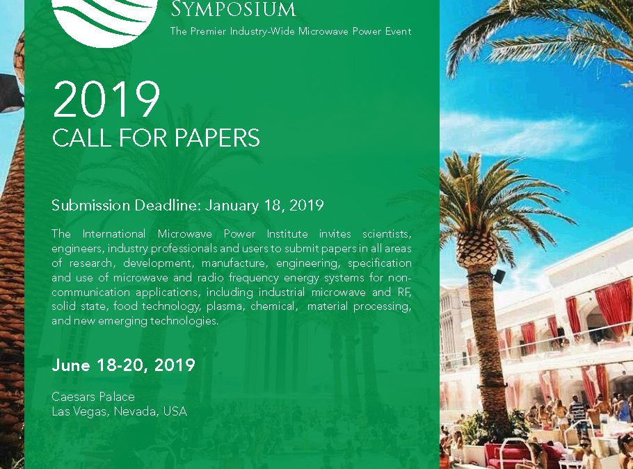 IMPI EXTENDED DEADLINE to FEBRUARY 1 for abstract submission