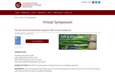 IMPI's 54th Annual (Virtual) Symposium