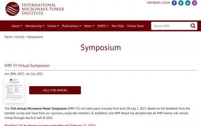 IMPI 55 Symposium (Due Feb 15th)