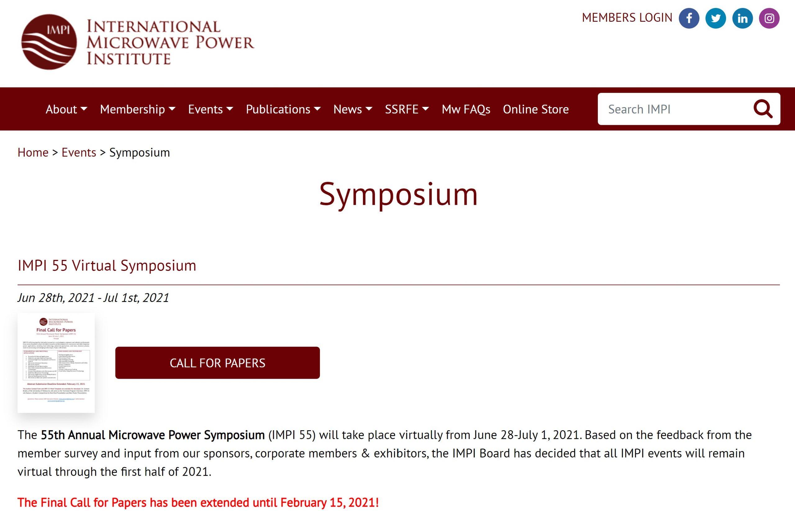 IMPI Symposium