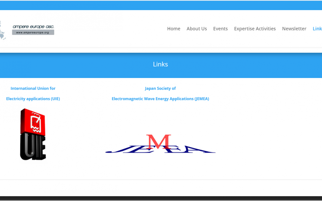 Links page has been updated with JEMEA website